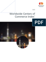 MasterCard Worldwide Centers of Commerce Index - 2008