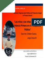 LOS NIÑOS PRIMERO OROZA