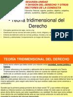 T 2 Teoria Tridimen Del Dercho