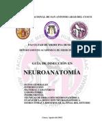 MANUAL DE DISECCIÓN DE NEUROANATOMIA 2012 - II
