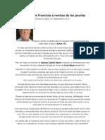 Francisco a Revistas de Los Jesuitas