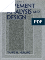 Book Pavement Analysis and Design by Yang H. Huang