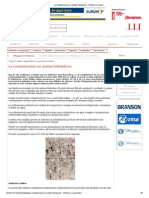 La contaminación en aceites hidráulicos - Plástico y Caucho