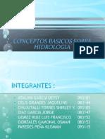 Conceptos básicos sobre Hidrología