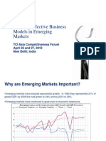 Building Effective Business Models in Emerging Markets