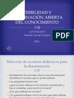 VISIBILIDAD Y DISEMINACIÓN ABIERTA DEL CONOCIMIENTO