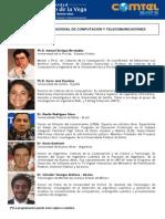 COMTEL 2013 Programación Conferencias, Foro y Papers