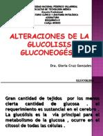 Clase Alteraciones de la glucólisis y de la gluconeogénesis.