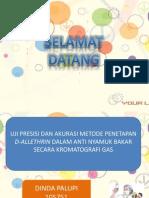 Presentation dinda