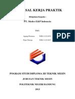 Proposal Pengajuan Kp Pt Medco Energi