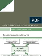 02 Area Curricular Comunicacion[1]