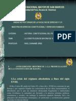 La Constitucion de Bayona de 1808