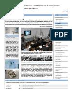 Institute Alumni Newsletter_Issue 01
