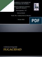 FUGACIDAD