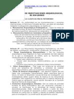 Reglamento de Investigaciones INC