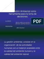 AUDITORIA GESTIÓN AMBIENTAL