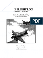 WWII B-17 Log