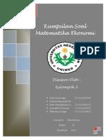 Matematika Ekonomi Semester 1 (unimed)