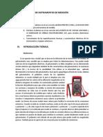 Lab. Circuitos Electronicos I - 1.- Instrumentos de Medicion