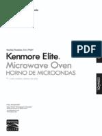 79202Kenmore Elite Black 2.0 cu.ft.1200 Watts Microwave Oven 79209