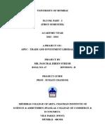 Apec - Trade & Investment Liberalization