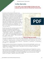 A liberdade da índia Marcela - Revista de História