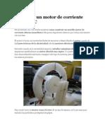 Construir Un Motor de Corriente Alterna AC