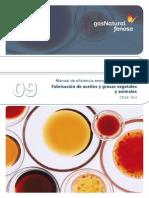 MEE Para Pymes 09 Fabricacion de Aceites y Grasas Vegetales y Animales