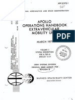 NASA Apollo Lunar Spacesuit Manual