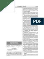 DS.016-2009-MTC - TUO del Reglamento Nacional de Tránsito - Código de Tránsito