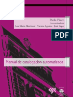 Manual de Catalogacion Automatizada
