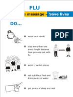 Flu dos and don'ts--