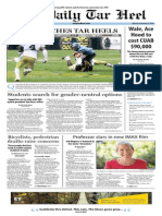 The Daily Tar Heel for September 23, 2013