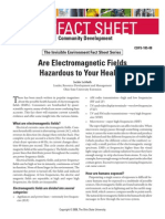 Are Electromagnetic Fields Hazardous to Your Health?