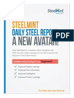 SteelMint Daily Steel Report as on 22 Oct 13