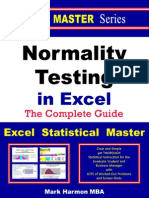 Normality Testing in Excel