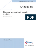 Infineon - AN2008-03 - Thermal Equivalent Circuit Models