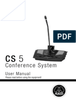 Cs5 Conference System