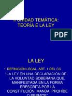 CONCEPTO Y CLASIFICACIÓN DE LAS LEYES