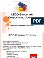Lego- Outsourcing Journey