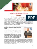 Child Marriage Event Report - Plan International Bangladesh - 10 September 2013, Dhaka