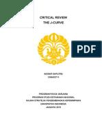 Critical Review J-Curve