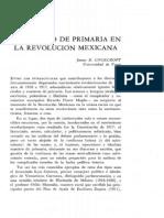 El Maestro de Primaria y La Rev Mexicana