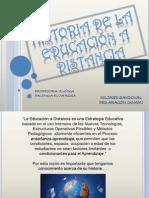 historiadelaeducacinadistancia-110530203912-phpapp01