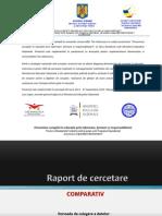Raport de Cercetare Comparativ - Prevenirea Coruptiei