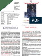 Newsletter Friday 6th September