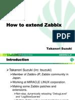 Zabbix Conference 2012 Miracle Takanori Suzuki FINAL