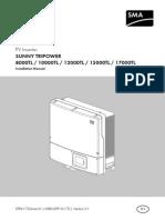 Sma Tripower 8000tl 10000tl 12000tl 15000tl 17000tl Installation Guide