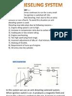 Anti Dieseling System