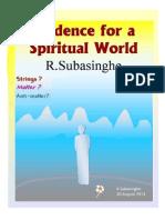 Evidence for a Spiritual World